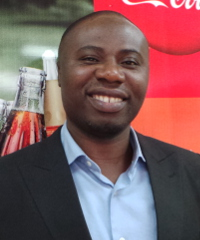 Seth Adu-Baah, country manager of the Liberia Coca-Cola Bottling Company