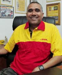 Pramod Bagalwadi, Ghana Country Manger of DHL Global Forwarding