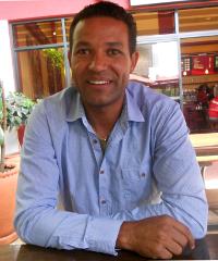 Nikos Pocock, founder and CEO of Africa Calling Safaris