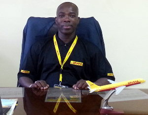 Nawa Yeo, country manager of DHL in Burkina Faso