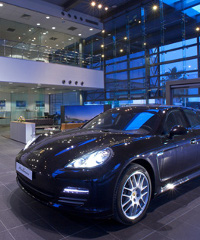 Last year, Porsche opened a dealership in a wealthy district of Lagos, Nigeria.