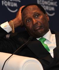 Kenyan businessman Chris Kirubi