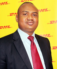 Amadou Diabate, country manager of DHL Express in Niger