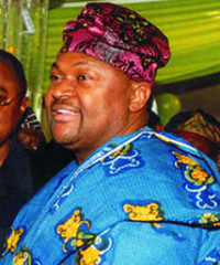 Nigerian telecoms boss Michael Adenuga is the country's second richest man.