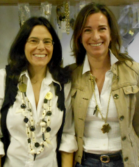 Elisabetta Capolino and Marina Bottelli of CREA Africa