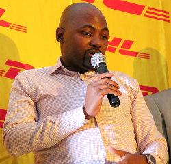 Mokgethi Magapa, Botswana country manager for DHL