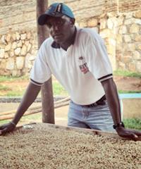 David Rubanzangabo, founder and managing director of Huye Mountain Coffee