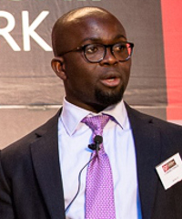 Isaac Kwaku Fokuo, CEO of the African Leadership Network