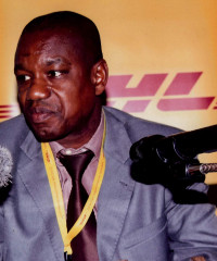 Kama Etchoho, country manager of DHL Express in Guinea