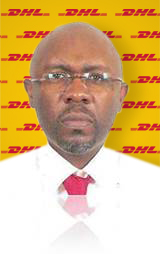 Alain Miko, DHL country manager in Togo