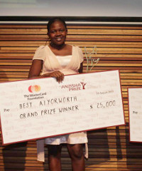 Best Ayiorwoth, winner of the 2013 Anzisha Prize