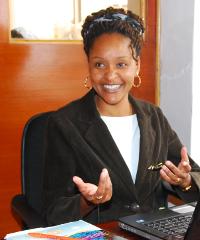 Carol Ngige, founder of Beauty Bee