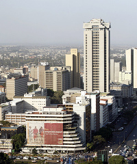 Kenya's capital Nairobi has been identified as one of the continent's emerging wealth hubs.