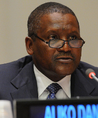 Aliko Dangote has been named one of Time's 100 Most Influential People.