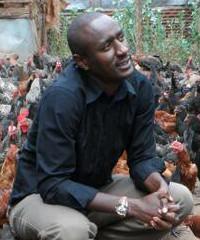 Caleb Karuga, founder of Wendy Farms