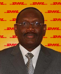 Komi Azomedon, Chad country manager for DHL Express