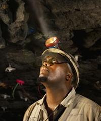 Platinum mining strikes South Africa 200x240