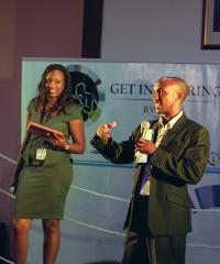 The 2013 Get in the Ring Regional Final for Africa, held in Rwanda.