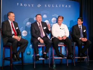 From left to right: Chris Whelan, Charles Brewer, Gert Schoonbee, Sunil Joshi