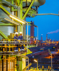 Sasol has become a global player in the energy and chemical industries.