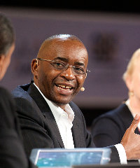 Strive Masiyiwa at the Africa Global Business Forum in Dubai