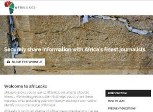 The western world has WikiLeaks, now Africa has AfriLeaks.