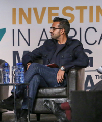 """""""A city like Lagos has 20 million people, but just two shopping centres,"""" said Ashish J. Thakkar, at this week's Investing in African Mining Indaba in Cape Town."""