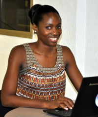 Candace Nkoth Bisseck, Kaymu's country manager for Cameroon.