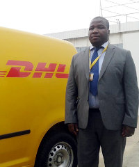 Serge Gnandji, CFO and acting country manager of DHL Express, Côte d'Ivoire
