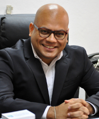 """""""Success does not make you Superman, failure does not make you a loser,"""" says Anirban Deb, CEO of Olam Cameroon."""