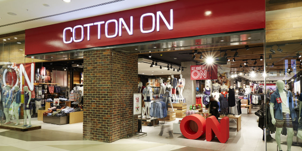 Cotton On's store in Sandton, Johannesburg, is one of its top performing stores globally.