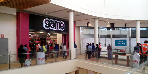 South African retailer Game last year opened in Nairobi's Garden City mall.