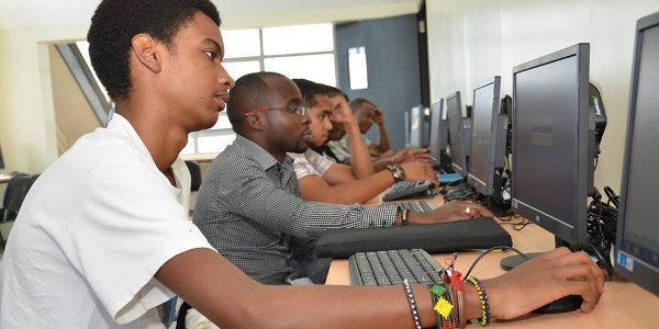Students at Nairobi's Edulink International College.