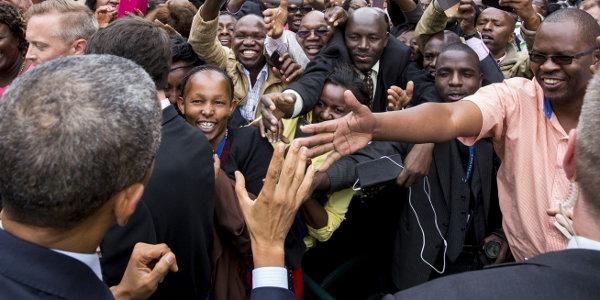US President Barack Obama during his visit to Kenya earlier this year.