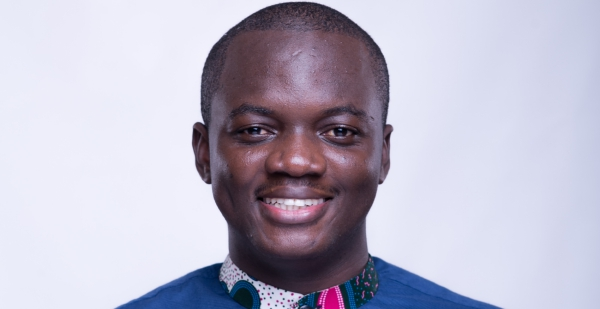 """""""Coming from a normal rural Ghanaian background of limited resources, to becoming someone who can overcome challenges and use those limited resources to solve problems in society, makes my family and community proud,"""" said Alloysius Attah, co-founder of Farmerline."""