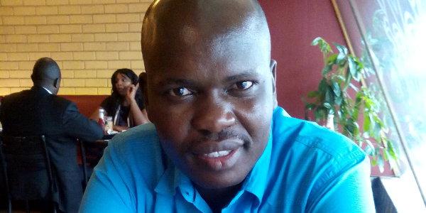 Calvince Okello, founder of M-Shamba