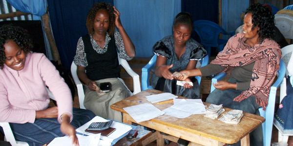 Table Banking training in Kajiado county.
