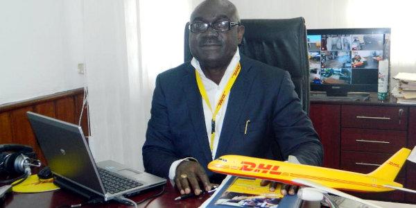 Akwasi Aninakwah, DHL Express Liberia country manager
