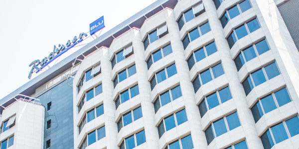The 178-roomed Radisson Blu opened in Brazzaville this week.