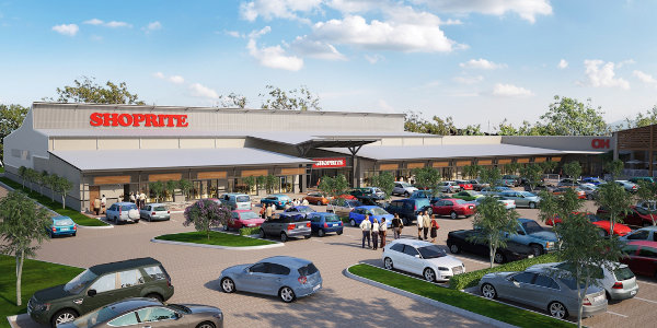 An artist's impression of Terrace Africa's new shopping centre in Tete.