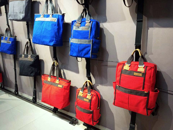 Sandstorm's new coloured bags are made to appeal to young Kenyans.