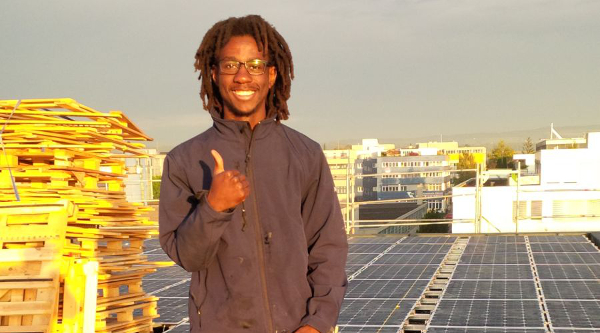 """""""Electricity supply is really important for the development of a country. Without electricity, New York or Johannesburg would just be villages,"""" said George Mtemahanji, co-founder of SunSweet Solar in Tanzania."""