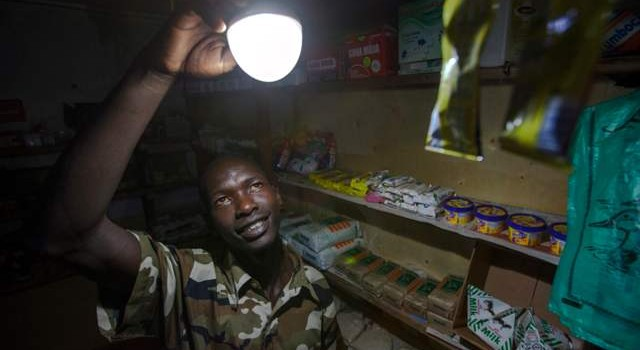 M-KOPA sold its solar energy system to over 300,000 low-income households through innovative payment and distribution tactics. Picture: Georgina Goodwin / M-KOPA