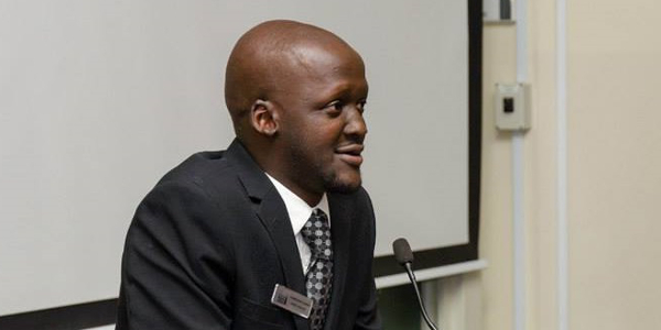 """I have been fortunate and now one of my goals is to be able to go and give back, because I know there is a lot of people where I come from who are skilled in ways that the system does not necessarily cater for,"""" said Karidas Tshintsholo."""