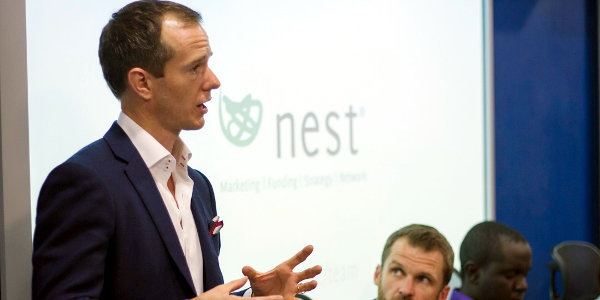 Lawrence Morgan, COO of Nest Investments