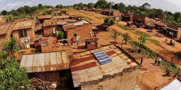 A SolarNow installation in Uganda's Kayunga District.