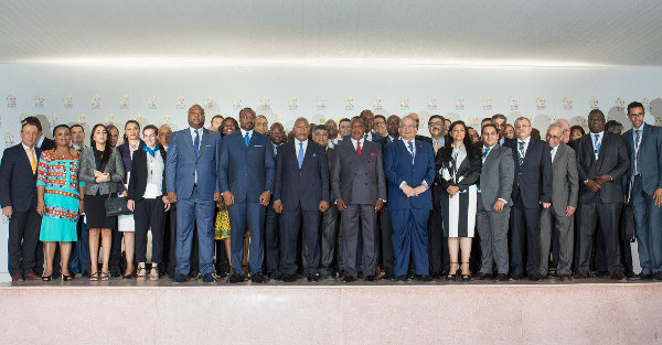 Ministers, investors and international decision-makers at the ICB Forum 2015 (Photo J. Torregano)