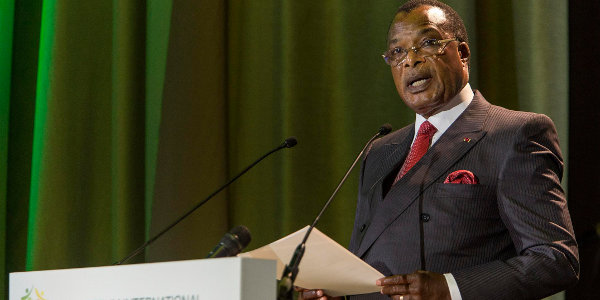 His Excellency Denis Sassou N'Guesso, President of the Republic of the Congo (Photo J. Torregano)