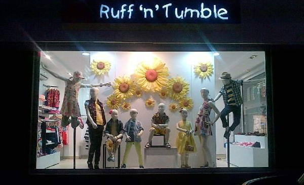 A Ruff 'n' Tumble outlet in Lagos.