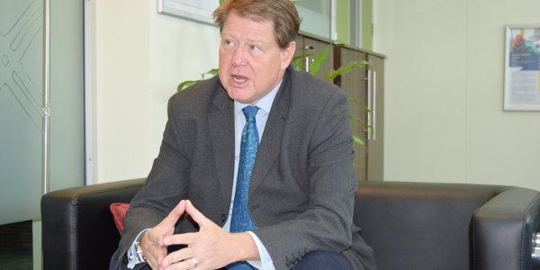 Frank Matsaert, CEO of Trade Mark East Africa